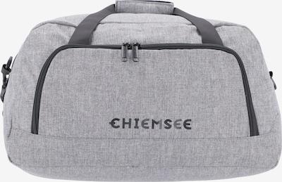 CHIEMSEE Reisetasche in graumeliert / schwarz, Produktansicht