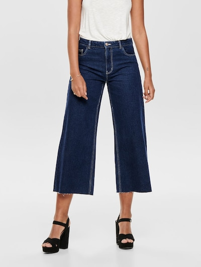 Jeans 'ONLSONNY HW WIDE LEG ANK DNM JEANS OS' ONLY pe albastru cobalt, Vizualizare model