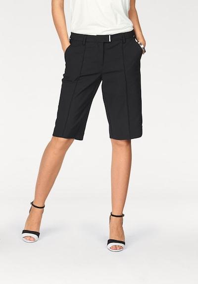 BRUNO BANANI Bermudas in schwarz, Modelansicht