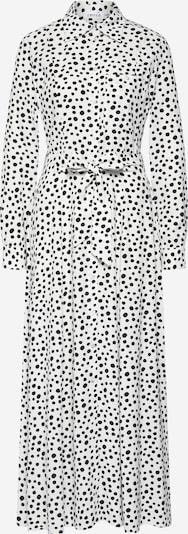 EDITED Sukienka koszulowa 'Jonna' w kolorze czarny / białym, Podgląd produktu