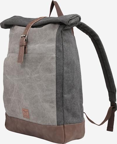 Iriedaily Rucksack 'Rolltop' in grau, Produktansicht