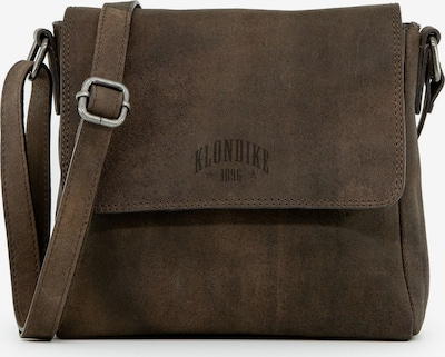 KLONDIKE 1896 Schultertasche 'Naika' in dunkelbraun, Produktansicht