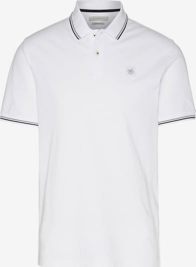 bugatti Poloshirt in weiß, Produktansicht