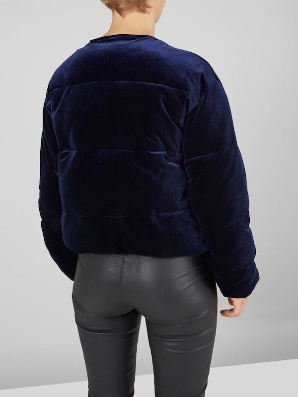 Y.A.S Wattierte Samt-Jacke