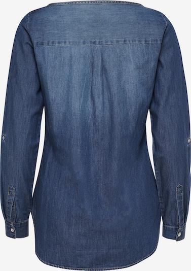 JACQUELINE de YONG Denimhemd in blau: Rückansicht