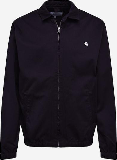 Carhartt WIP Prehodna jakna 'Madison' | črna / bela barva, Prikaz izdelka
