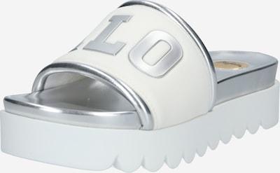 BUFFALO Muiltjes 'EDONA' in de kleur Zilver / Wit, Productweergave