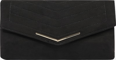 Dorothy Perkins Clutch 'BLACK STITCH BAR CLUTCH' in de kleur Zwart, Productweergave