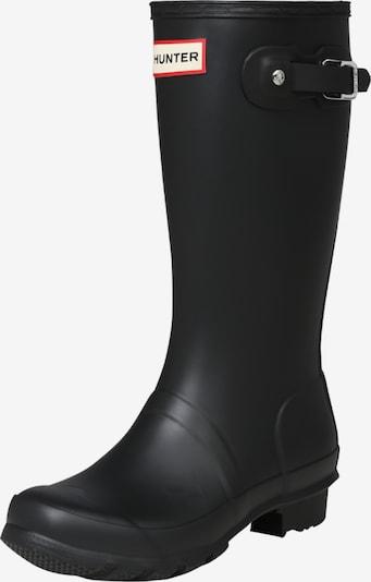 HUNTER Gummistiefel in schwarz, Produktansicht
