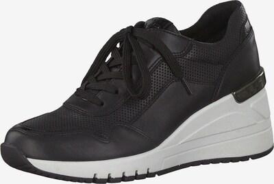 MARCO TOZZI Sneakers laag in de kleur Zwart: Vooraanzicht