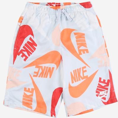 Kelnės iš Nike Sportswear , spalva - smėlio / šviesiai mėlyna / oranžinė / balta, Prekių apžvalga