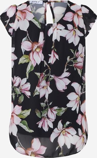 Hailys Top 'Medea' in de kleur Oudroze / Zwart, Productweergave