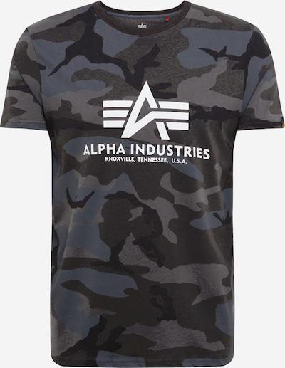 ALPHA INDUSTRIES Tričko - čierna, Produkt