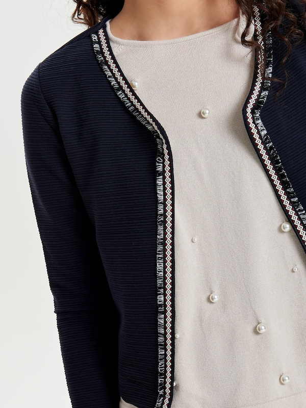 ONLY Detailreiche Strickjacke