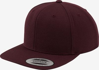 Flexfit Cap in burgunder, Produktansicht