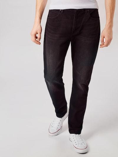 Lee Jeansy 'Austin' w kolorze czarny denimm, Podgląd na modelu(-ce)