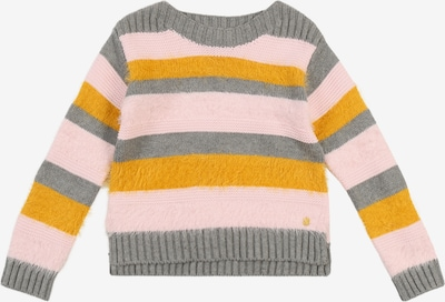 ESPRIT Pullover  'PULLI' in gelb / grau / rosa, Produktansicht