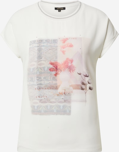 MORE & MORE T-Shirt in mischfarben / offwhite, Produktansicht