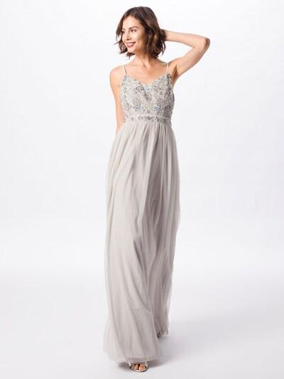 Vakarinė suknelė iš Laona , spalva - šviesiai pilka: Vaizdas iš priekio