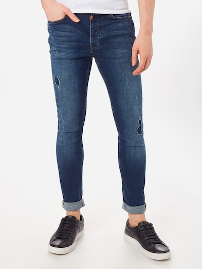 tigha Jeans 'Robin 9054' in blue denim, Modelansicht