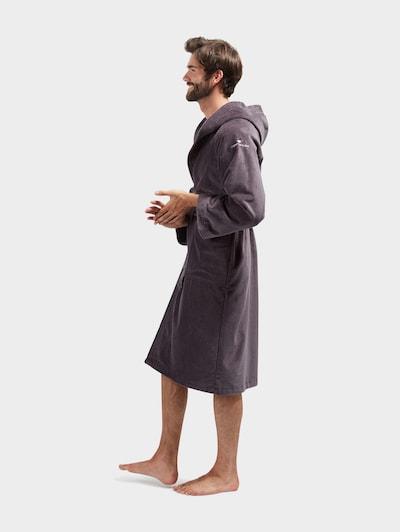 TOM TAILOR Badjas lang  in de kleur Bruin, Modelweergave