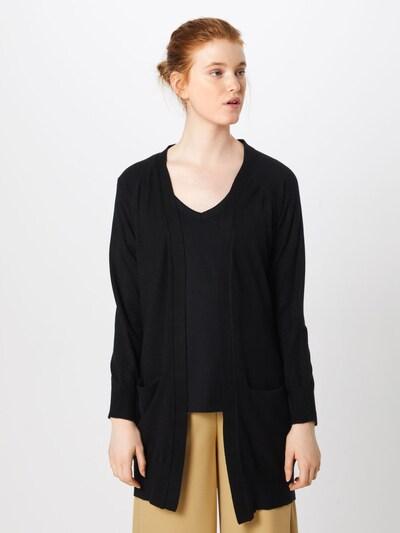 JACQUELINE de YONG Cardigan 'Day' en noir, Vue avec modèle