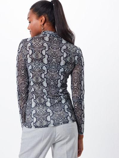 ABOUT YOU T-Krekls 'Esther Shirt' pieejami pelēks / melns: Aizmugures skats