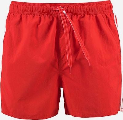 ADIDAS PERFORMANCE Badeshorts in rot / weiß, Produktansicht