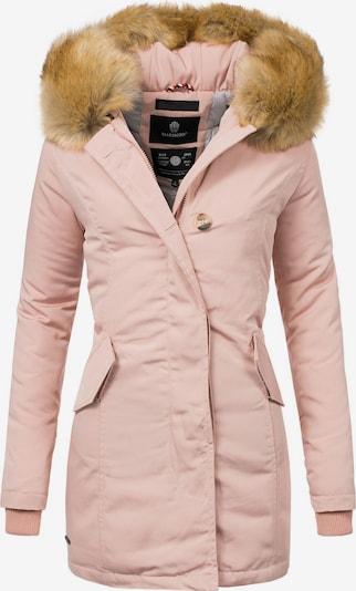MARIKOO Wintermantel 'Karmaa' in rosa, Produktansicht