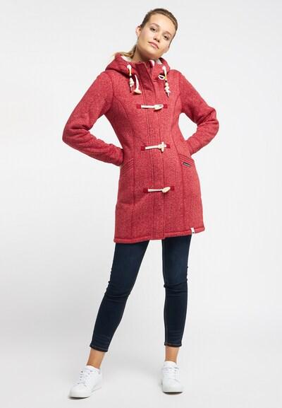 Schmuddelwedda Tussenmantel in de kleur Rood gemêleerd, Productweergave