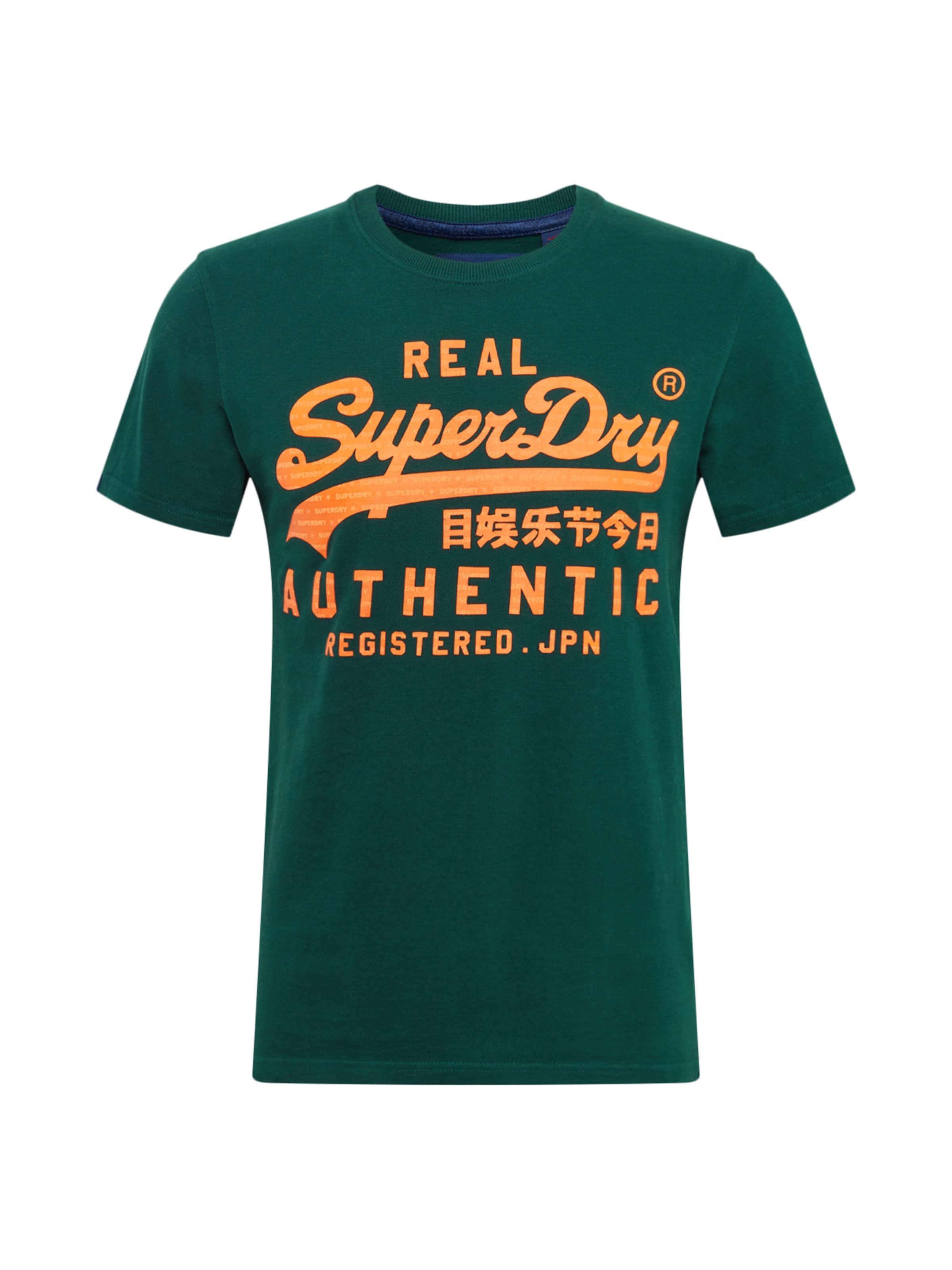 Authentic' En Superdry T 'vintage JauneSapin shirt rdCBtosxhQ