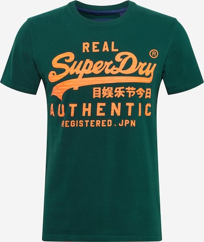 Superdry Koszulka 'Vintage Authentic' w kolorze żółty / jodłam, Podgląd produktu