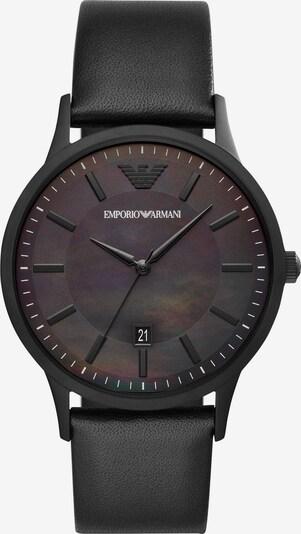 Emporio Armani Uhr in schwarz, Produktansicht
