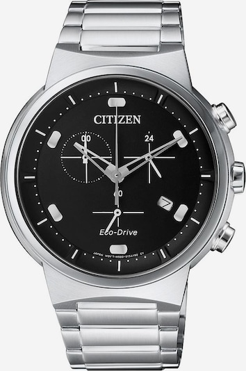 CITIZEN Chronograph 'AT2400-81E' in schwarz / silber, Produktansicht