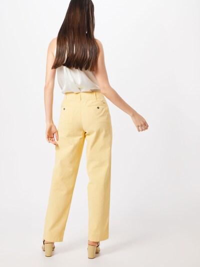 POLO RALPH LAUREN Spodnie w kolorze żółtym: Widok od tyłu