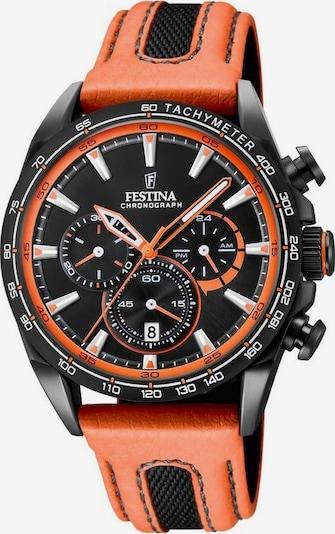 FESTINA Chronograph 'The Originals, F20351/5' in grau / orange / schwarz, Produktansicht
