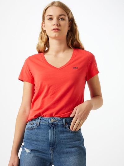 LEVI'S Majica | rdeča / pastelno rdeča / bela barva, Prikaz modela