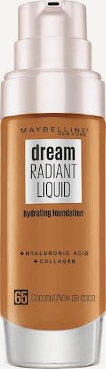 MAYBELLINE New York Foundation 'Dream Radiant Liquid' in nude, Produktansicht