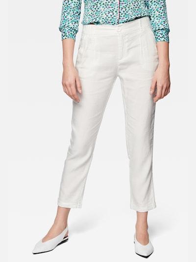 Mavi Hosen Regular ' LINEN PANTS ' in weiß, Modelansicht