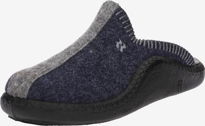 ROMIKA Hausschuh 'Mokasso' in navy / grau, Produktansicht
