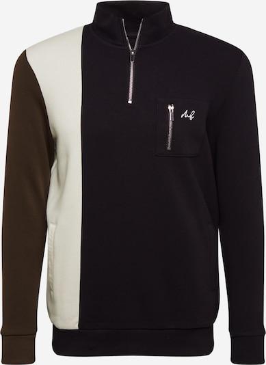 BURTON MENSWEAR LONDON Pullover in beige / khaki / schwarz, Produktansicht