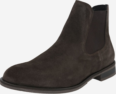 SELECTED HOMME Chelsea Boots in dunkelbraun, Produktansicht
