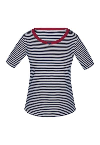 sassa T-Shirt 'SEA SPIRIT' in nachtblau / rot / weiß, Produktansicht