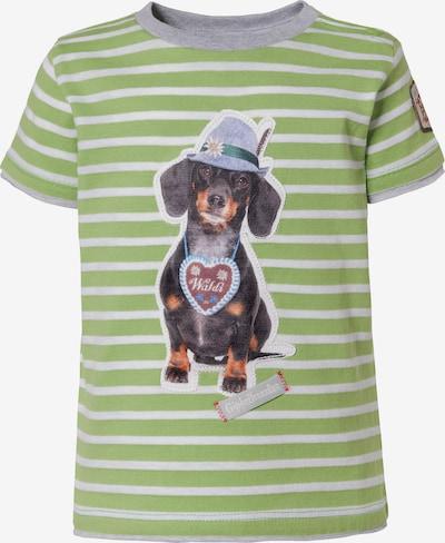 BONDI T-Shirt in grün / mischfarben, Produktansicht