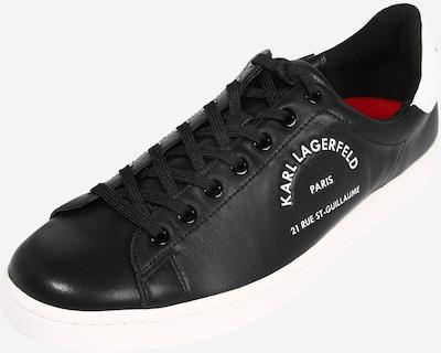 Karl Lagerfeld Tenisky 'KOURT' - černá / bílá, Produkt