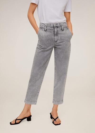MANGO Jeans 'Acid' in hellgrau / graumeliert, Modelansicht