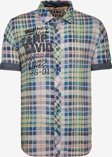 CAMP DAVID Hemd in blau / grün, Produktansicht