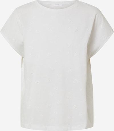 Tricou 'Slume' OPUS pe alb, Vizualizare produs