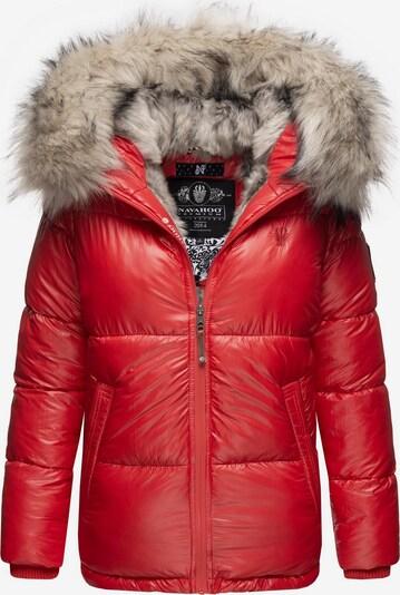 NAVAHOO Winterjacke 'Tikunaa' in rot, Produktansicht