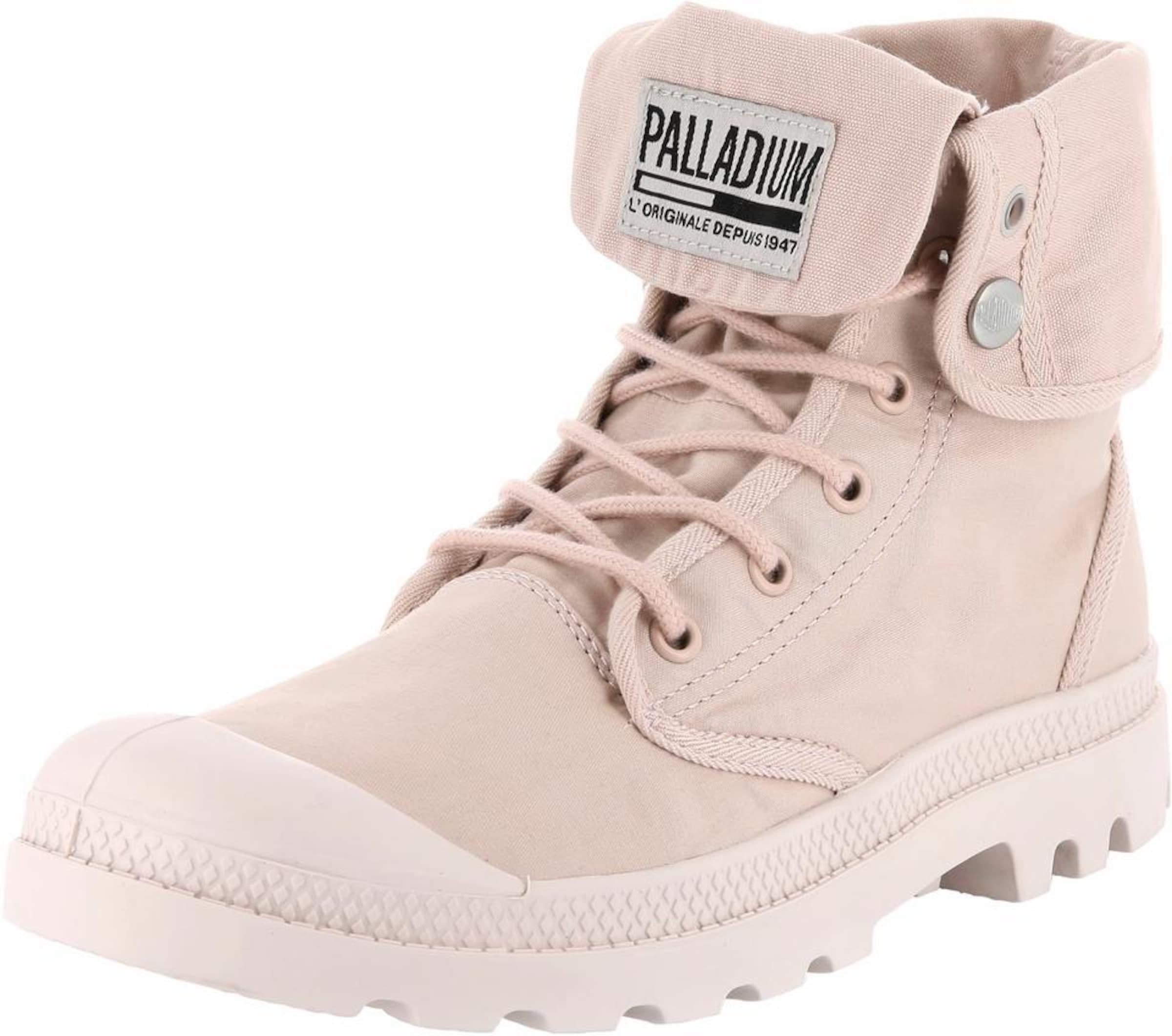Palladium Schnürstiefelette Baggy Army Verschleißfeste billige Schuhe